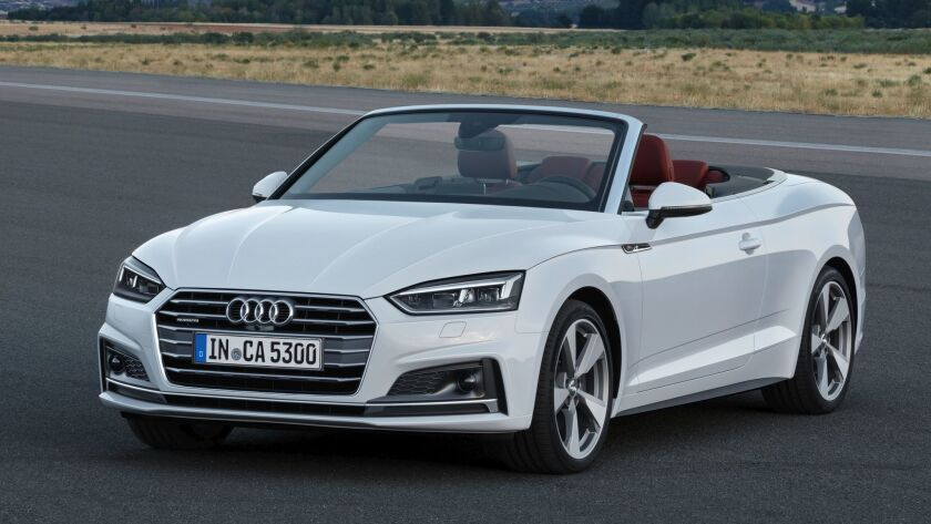 The four-seat A5 Cab is the right-size ragtop for daily use and the weekend getaway.