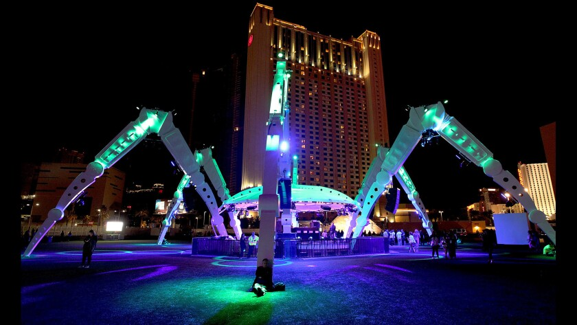 Festivities and performances near an end at Rock in Rio in Las Vegas on Saturday.