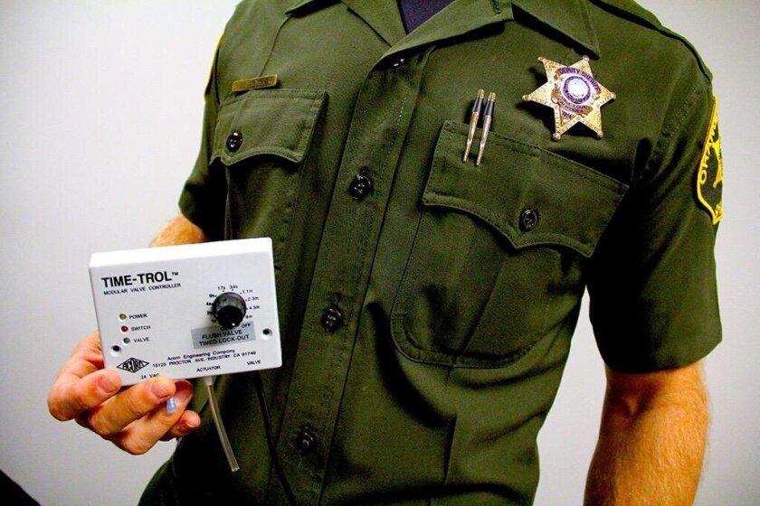 Largest Orange County jail implements water-saving programs
