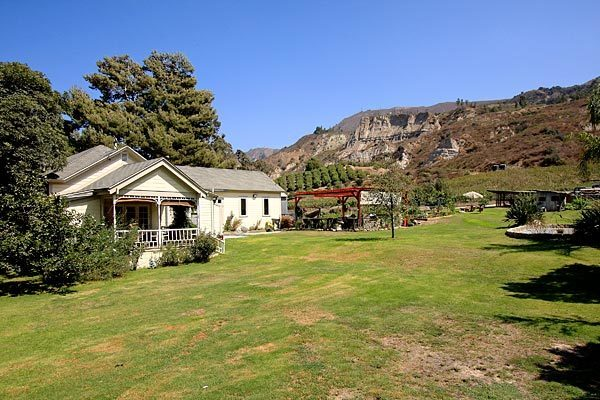 The Santa Paula ranch was once owned by actor Steve McQueen.