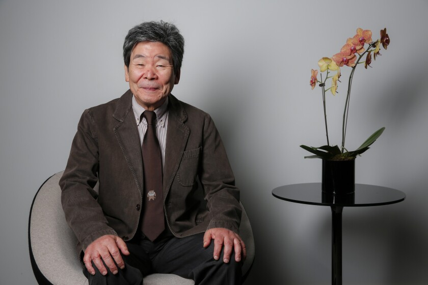 """Japanese animator and director Isao Takahata is photographed at the Toronto International Film Festival during a day of press for his new film, """"The Tale of the Princess Kaguya."""""""