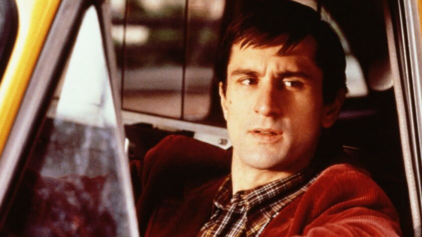 "Robert De Niro in ""Taxi Driver."" AMC presents the network television premiere of the restored and di"
