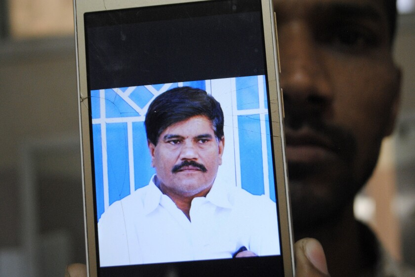 Aziz Memon, 56, had worked as a reporter and cameraman for a local TV station in Pakistan's Sindh province.