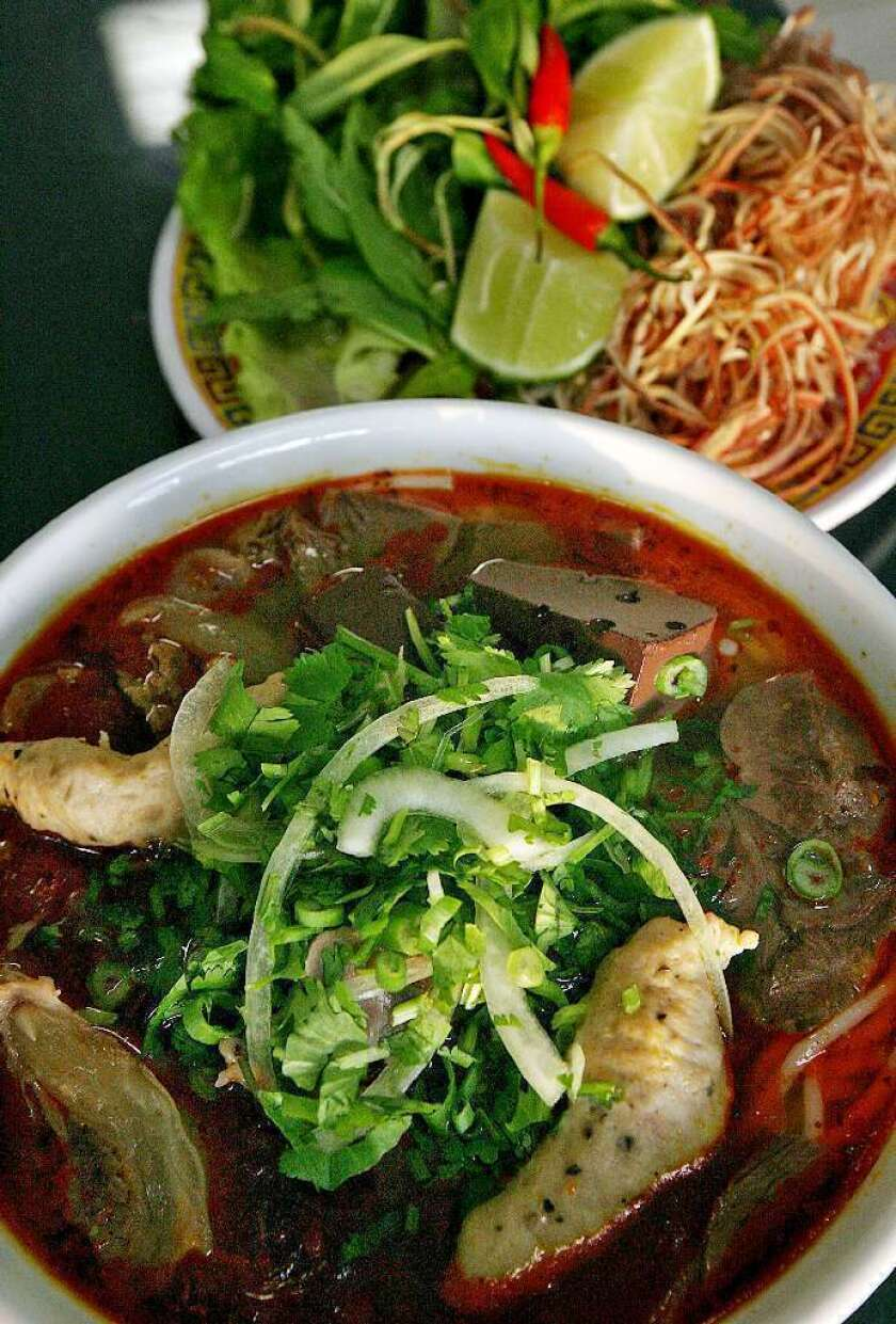 A study shows elevated levels of melamine in the urine of those who ate noodle soup from melamine bowls.