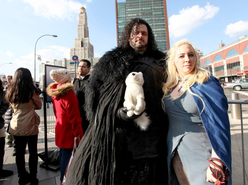"""Game Of Thrones"" Season 4 Fan Experience Event"