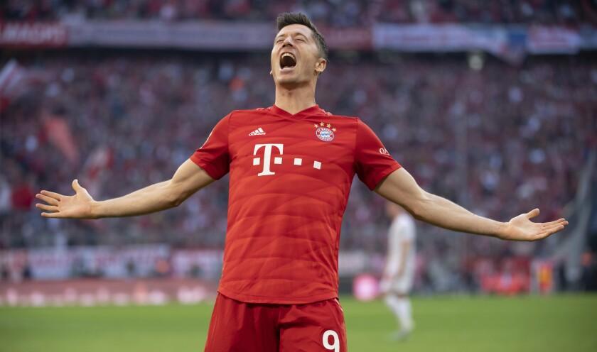 Robert Lewandowski o la locomotora del Bayern - Los Angeles Times
