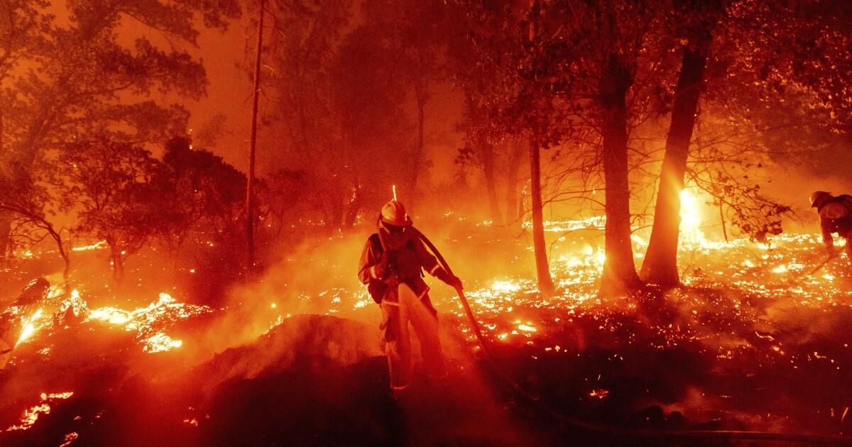 Death toll rises as California wildfires continue destructive path