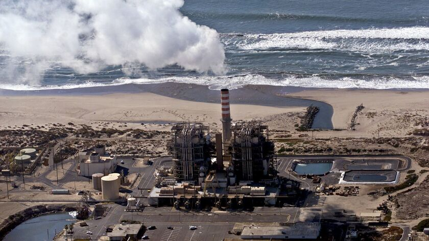 NRG Energy had proposed to replace the Mandalay power plant on Silver Strand beach in Oxnard with a new natural gas facility but asked regulators to suspend review of the plans.