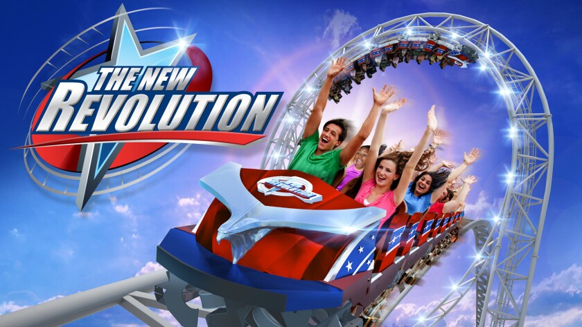 Six Flags Magic Mountain will renovate Revolution in honor of the roller coaster's 40th anniversary.