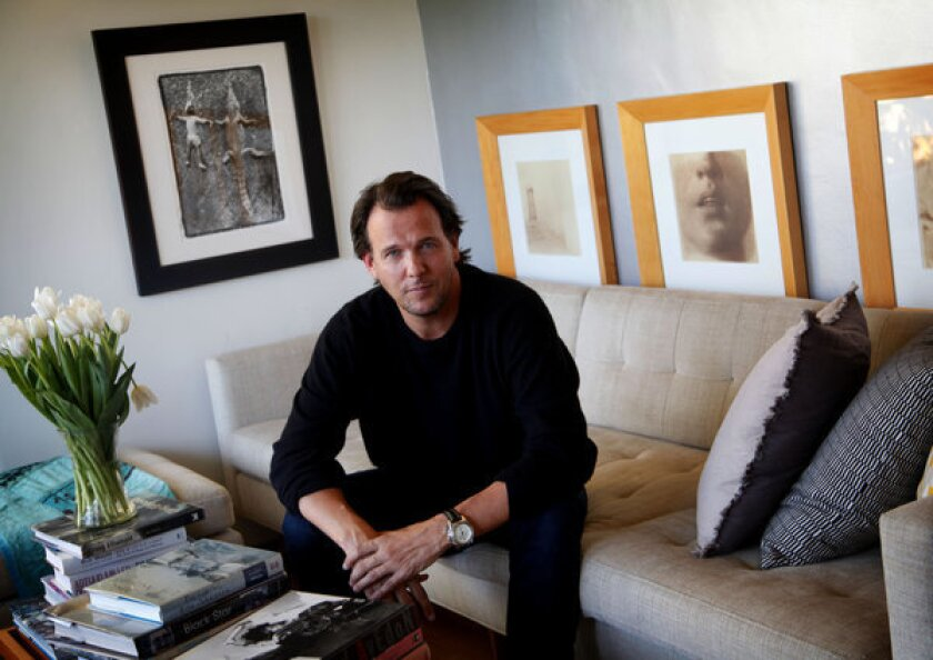 Jay Huguley at home in Silver Lake