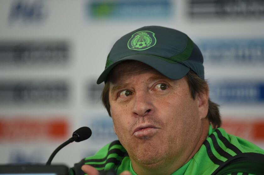 Miguel Herrera has banned his team from drinking alcohol, having sex during the World Cup.