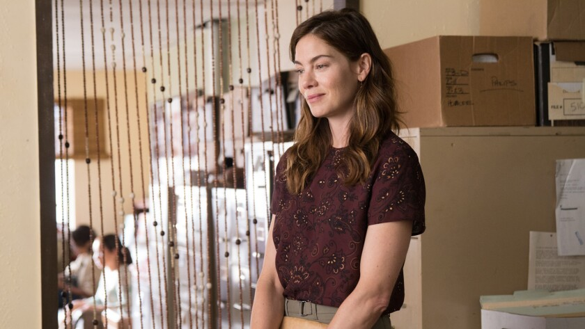 """Michelle Monaghan in the movie """"Saint Judy."""""""
