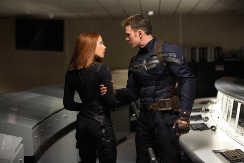 Box office: 'Captain America: The Winter Soldier' soars