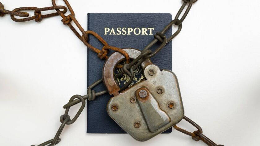 If your passport is locked up in chains, here's what to do if your problem is back taxes or child support.