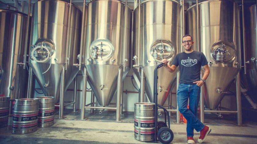 Rawley Macias of Rouleur Brewing Company