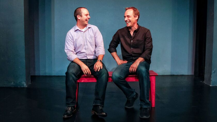 SAN DIEGO, CA August 16th, 2017 | Richie Ploesch (left), NCT program director and Gary Kramer (right