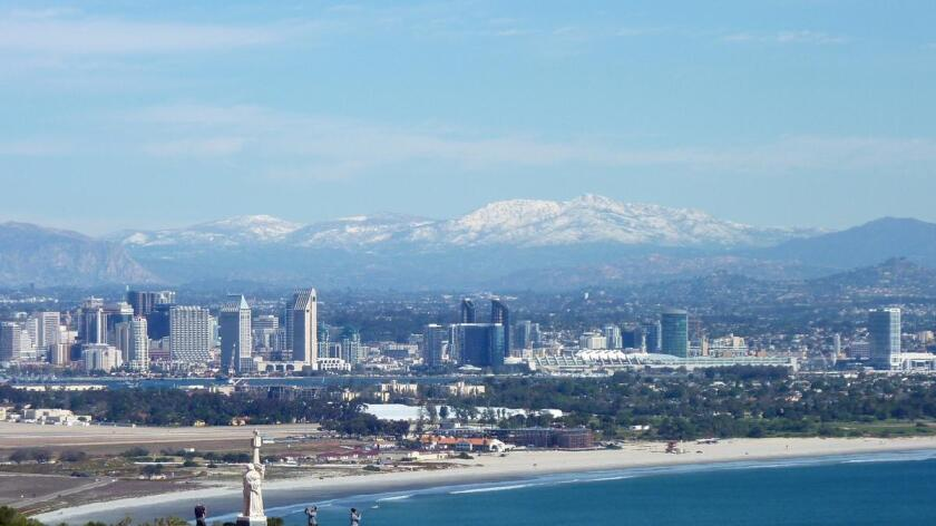 San Diego as seen from Cabrillo National Monument in this file photo.
