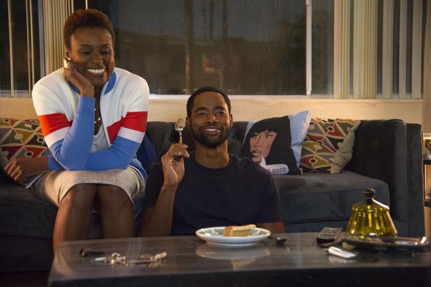"Watching TV in ""Insecure"""