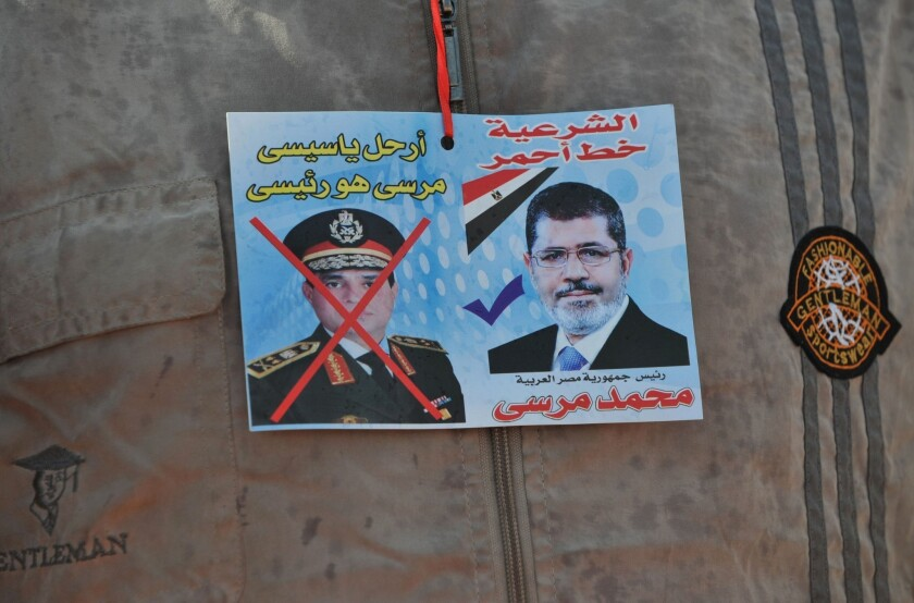 U.S. delays sale of warplanes to Egypt in wake of Morsi's ouster