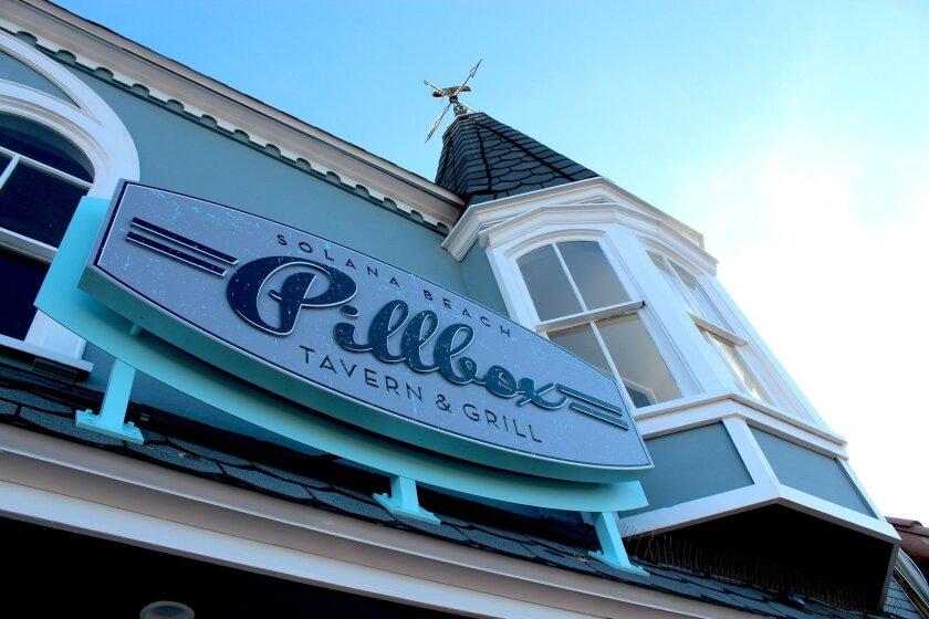 Pillbox Tavern in Solana Beach.