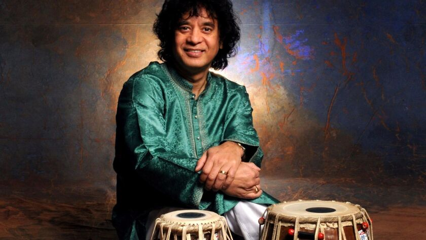 Indian tabla master Zakir Hussain fuses the music of the East and West like few others.