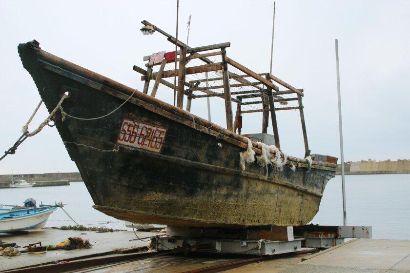 Japan mystery boats