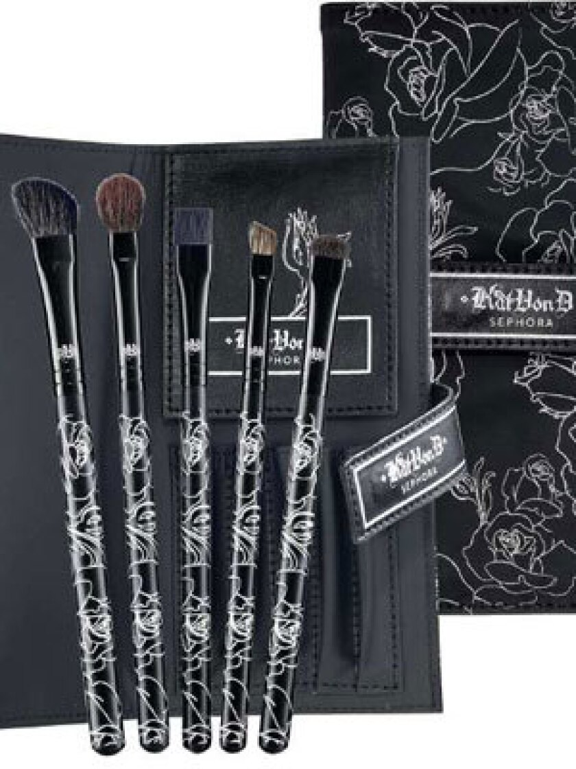 THAT LOOK: Kat Von D's Sephora line includes lipstick, brushes and eyeshadow.