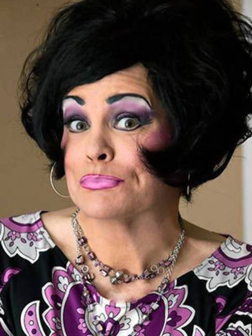 Tupperware party means big bucks for 'hostess' in drag