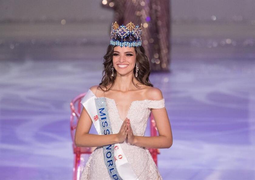 La mexicana, Vanessa Ponce de Leon, tras ganar el certamen de Miss Mundo 2018. EFE/Archivo
