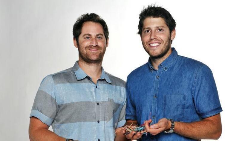 CEO Griffin Thall and CFO Paul Goodman of Pura Vida Bracelets. (/ Rick Nocon)
