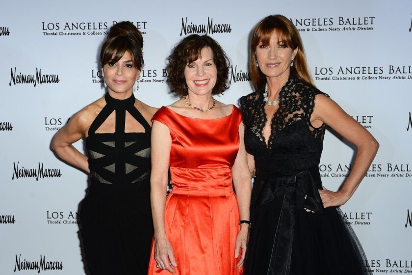 Los Angeles Ballet Honors Paula Abdul Jane Seymour Lori Milken Los Angeles Times