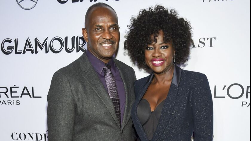 A production company led by actress Viola Davis and husband Julius Tennon signed a first-look deal with Amazon Studios. The couple are shown here at the Glamour Women of the Year Awards on Nov. 12, 2018, in New York.