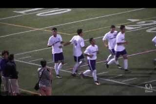 Cathedral soccer players are having fun