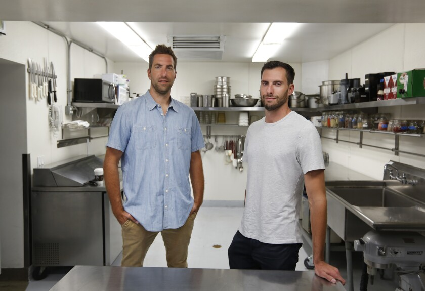 Ian Christopher, left, and Benji Koltai founded Galley Solutions, a software tool for restaurants and corporate kitchens.
