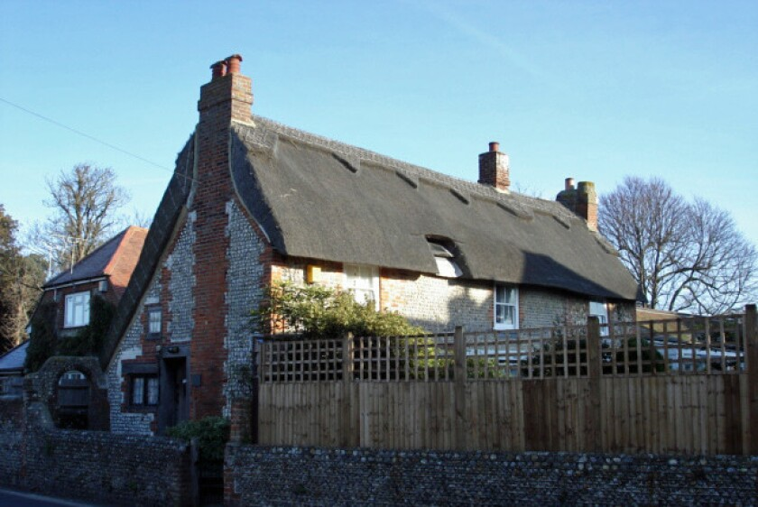 William Blake's cottage is for sale