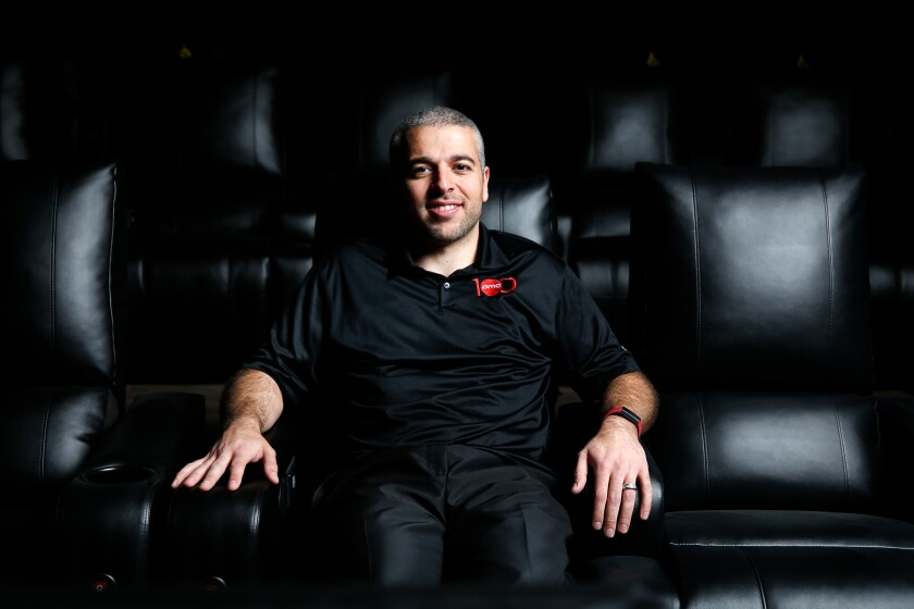 Hovsep Gavoutian is the general manager of a new AMC Theatre in Porter Ranch