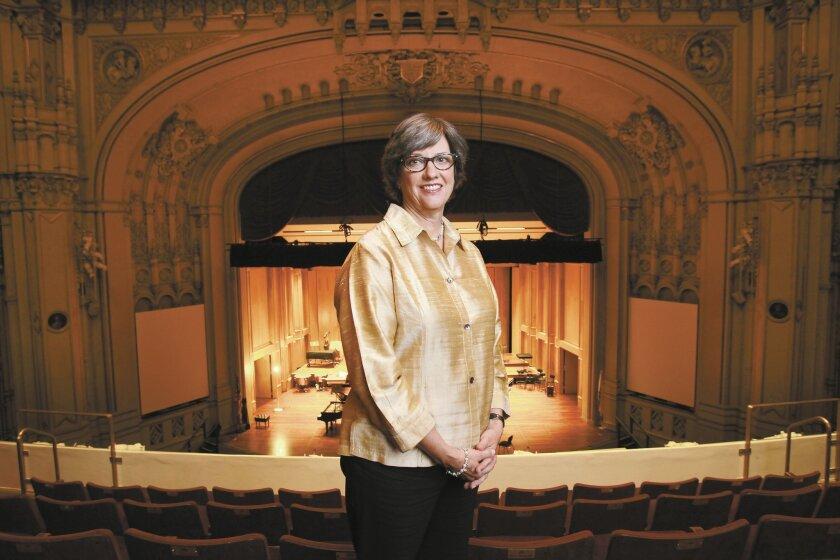 Martha Gilmer, CEO of the San Diego Symphony