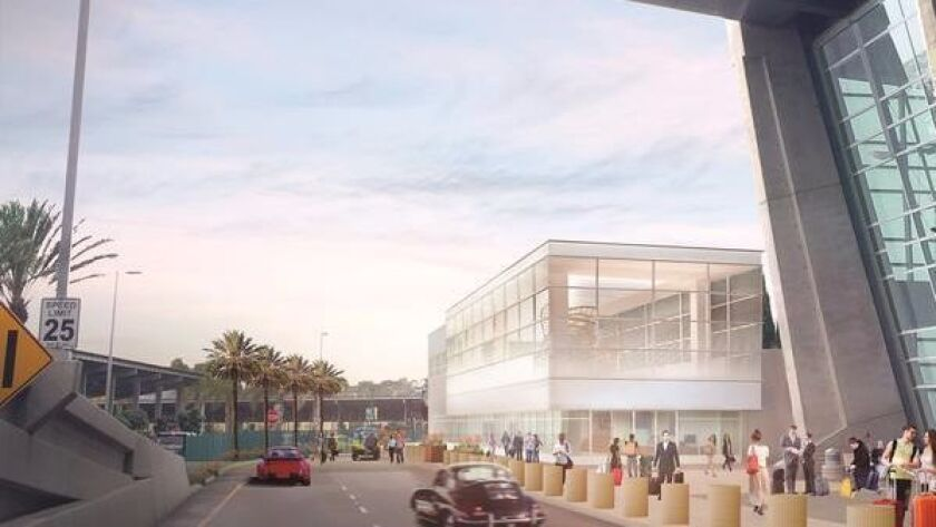 The remodeled and expanded Terminal 2 West will house a federal inspection station for passport and