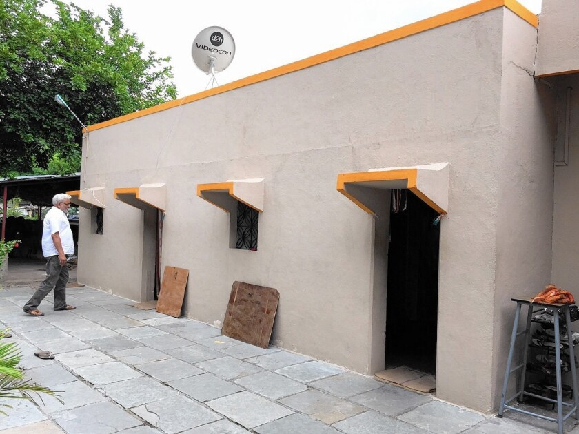 Home in Shani Shinganapur, India