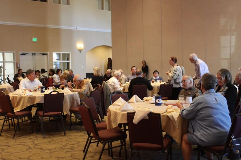 La Jolla Kiwanis Club meets at La Jolla Presbyterian Church, Fridays at noon.