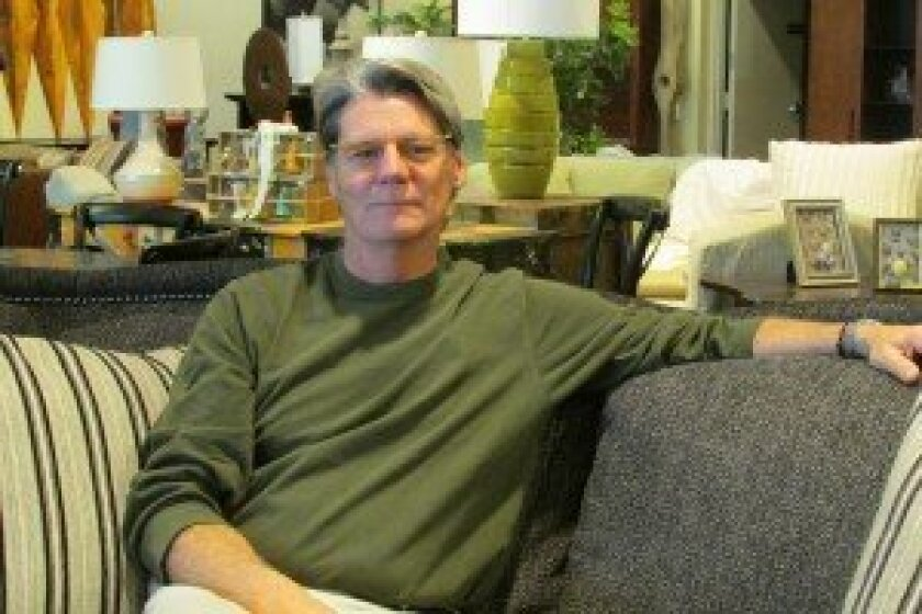 Mark Matheson, owner of Grace-Ful Living Home Furnishings.