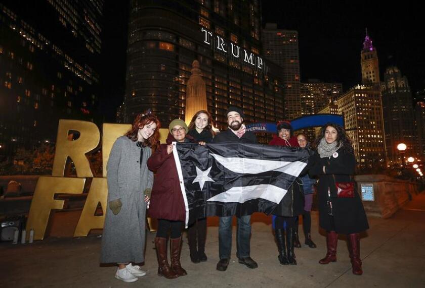 """Recuerdan en Chicago la """"crisis humanitaria"""" que aun vive Puerto Rico"""