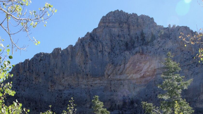 At almost 9,000 feet, Mt. Charleston, not far from the Vegas Strip, is much, much cooler.