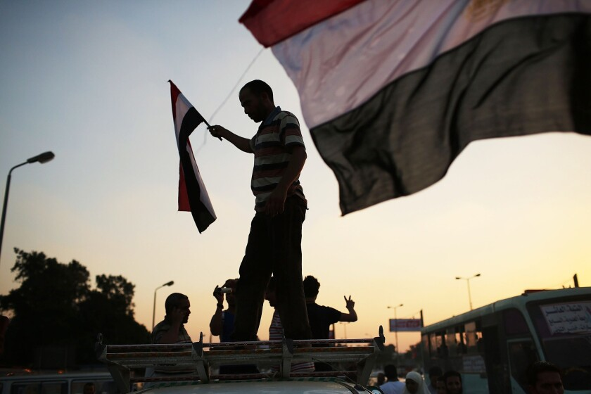Cairo tense as protesters gather