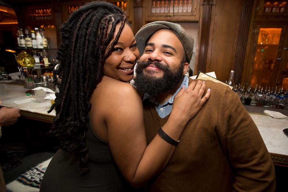 Polite Provisions brought glitz and glam to their New Year's Eve celebration on Saturday, Dec. 31, 2016. (Arlene Ibarra)