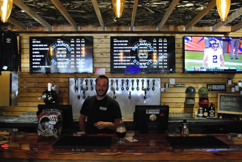 Belching Beaver Ocean Beach offers between 22 and 32 taps at a time with new flavors coming in every month.