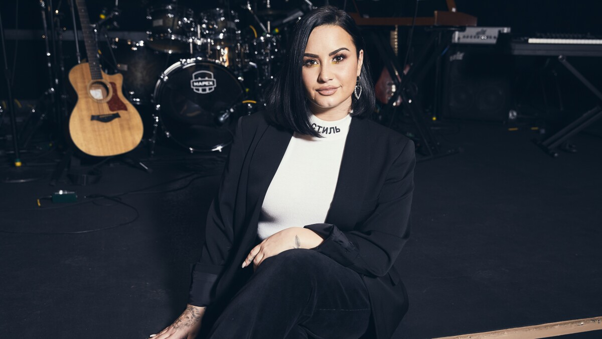 Demi Lovato is already bracing for the letdown after her Grammys performance