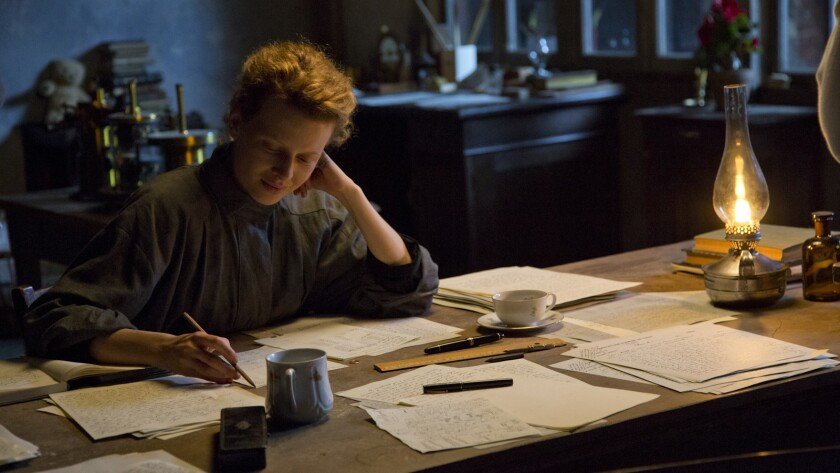 """Stills from the movie """"Marie Curie- The Courage of Knowledge."""" Pictured: Marie Curie (Karolina Grus"""