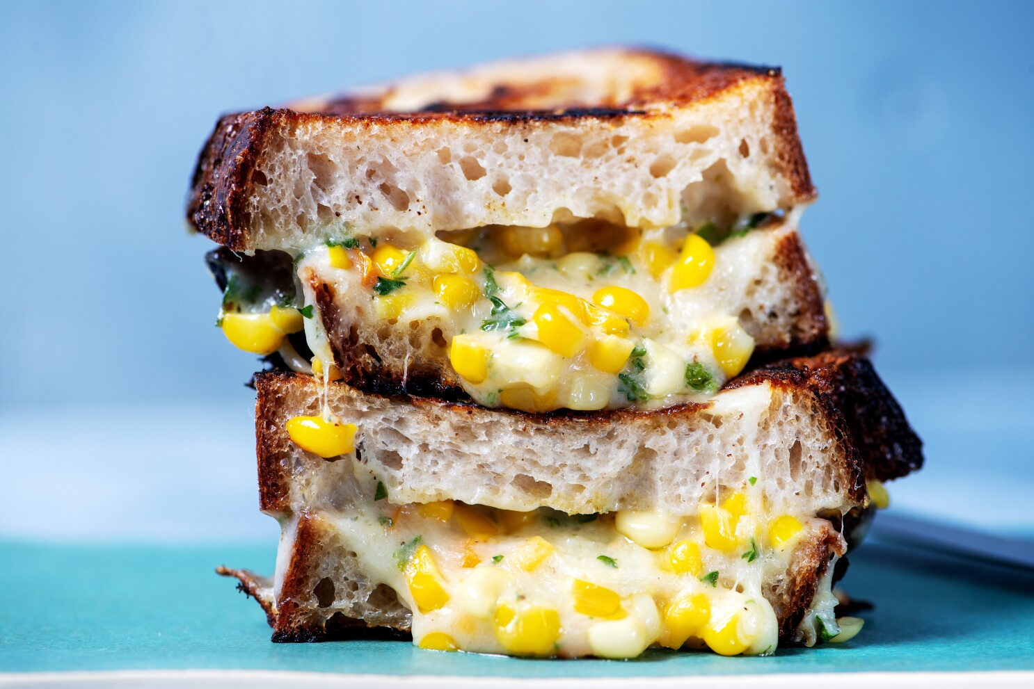 Korean Corn Grilled Cheese Recipe Los Angeles Times