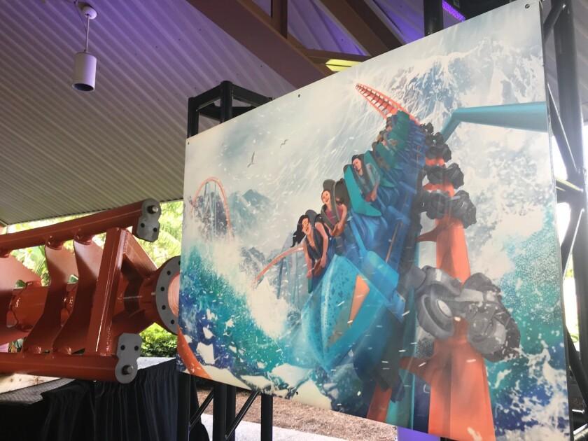Break the Ice, la nueva montaña rusa de SeaWorld Orlando